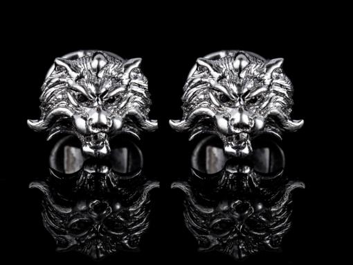 """Золотые запонки - """"Тигр"""""""