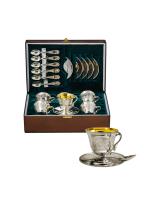 Серебряный кофейный набор