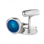 Запонки Alfred Dunhill Torch Blue