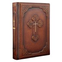 Библия в кожаном переплете