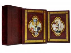 Книга Иконы святых воинов (Подарочный 2-х томник)