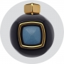 Перьевая ручка Tibaldi Our Father Easter Collection Yellow Gold, Black with Gold Prayer