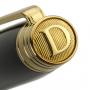 """Ручка перьевая """"DALVEY"""" SIGNATURE  Black 18K Gold  FP F"""