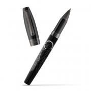 Роллеровая ручка Montegrappa Fortuna Guardian Angel Black Resin Diamond Roller