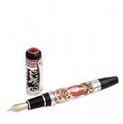 Перьевая ручка Tibaldi Sanctus Michael Archangelus Silver Fountain pen