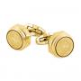 Запонки Montegrappa Emblema Yellow Gold PVD Cufflinks