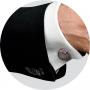 Запонки Montegrappa Emblema Brown PVD Cufflinks