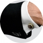 Запонки Montegrappa Extra Yellow Gold PVD Black Mother-of-Pearl inlay Cufflinks