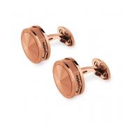Запонки Montegrappa NeroUno Rose Gold PVD Metal inlay Cufflinks