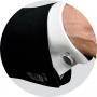 Запонки Montegrappa NeroUno Stainless steel Onyx inlay Cufflinks