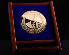 Медаль-поздравление с юбилеем фирмы