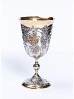 Серебряный Бокал Цветы 939