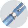 Перьевая ручка Montegrappa Micra Clear Blue Resin Fountain pen