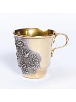 Серебреная чашка Птицы