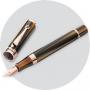 Перьевая ручка Montegrappa Ducale Brown Emperador Rose Gold PVD Fountain pen