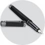 Перьевая ручка Montegrappa NeroUno Linea Crystal Ruthenium Fountain pen