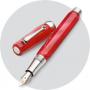 Перьевая ручка Montegrappa Micra Red Resin Fountain pen