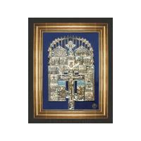 """Крест """"Распятие Христово с предстоящими и избранными иконами"""""""