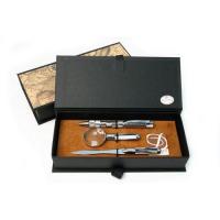 Письменный набор с ручкой, лупой и ножом