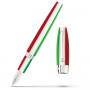 Перьевая ручка Montegrappa Fortuna Tricolore Palladium PVD Fountain pen
