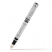 Перьевая ручка Montegrappa Cosmopolitan Yuri Gagarin Silver Fountain pen