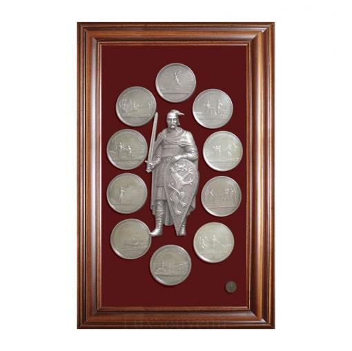 """Коллаж """"Медали на княжение Великого князя Святослава"""""""