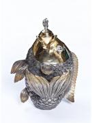 Серебряный Графин Рыбка