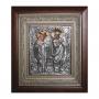 """Икона """"Священномученик Харлампий и Святая Елисавета"""""""