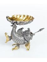 Серебреная Икорница Золотая рыбка