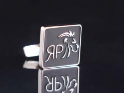 "Запонки с логотипом ""ЯР"""