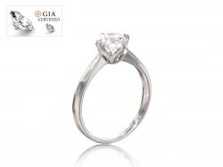 """Кольцо для помолвки """"Марго"""" из золота с бриллиантом."""