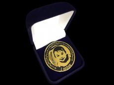 """Золотая монета """"Амелина"""""""
