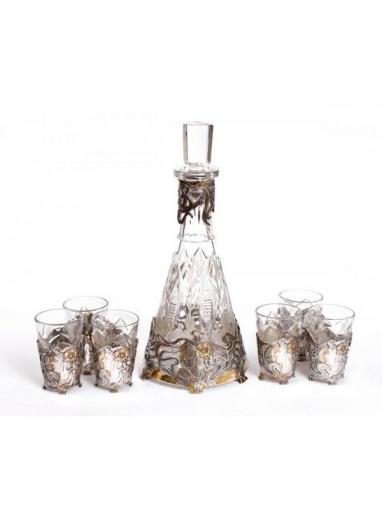 Серебряный Набор для напитков Модерн