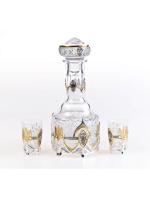 Серебряный Набор для напитков Украинский-2