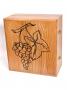 Набор для напитков с инкрустацией серебром Виноград