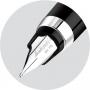 Перьевая ручка Montegrappa NeroUno Black Resin Fountain Pen