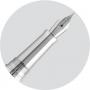 Перьевая ручка Montegrappa Memoria Gothic Engine Turning Silver Fountain pen