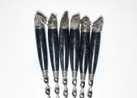 Набор шампуров «ОХОТА» (BLACK)