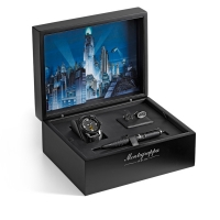 Набор Montegrappa Batman Fountain Pen, Watch, Cufflinks Set