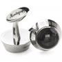 Запонки Montegrappa Miya Stainless steel, Black Cufflinks