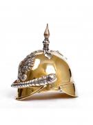 Серебреная Рюмка штрафная Шлем большой