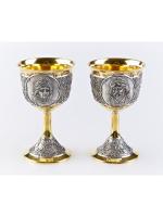 Серебряные Рюмки Боярин и Бояриня