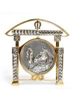 Серебреная Салфетница 1581