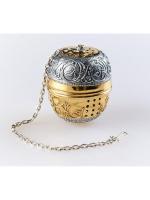 Серебряное Ситечко для чая Яйцо