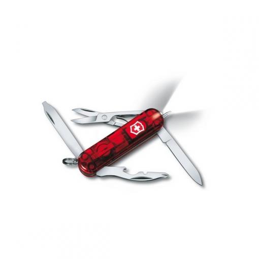 "Складной нож Victorinox ""Midnite Manager"" 0.6366.T с фонариком"