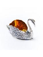Серебреная Солонка Лебедь