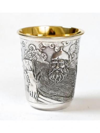 Серебряная стопка Богатырь