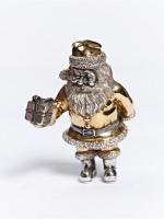 Серебреная Статуэтка Дед Мороз 1239