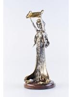 Серебреная Статуэтка Юстиция