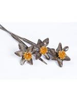Серебряные Цветы Нарциссы
